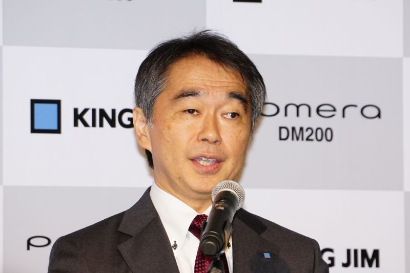 常務取締役開発本部長の亀田登信氏