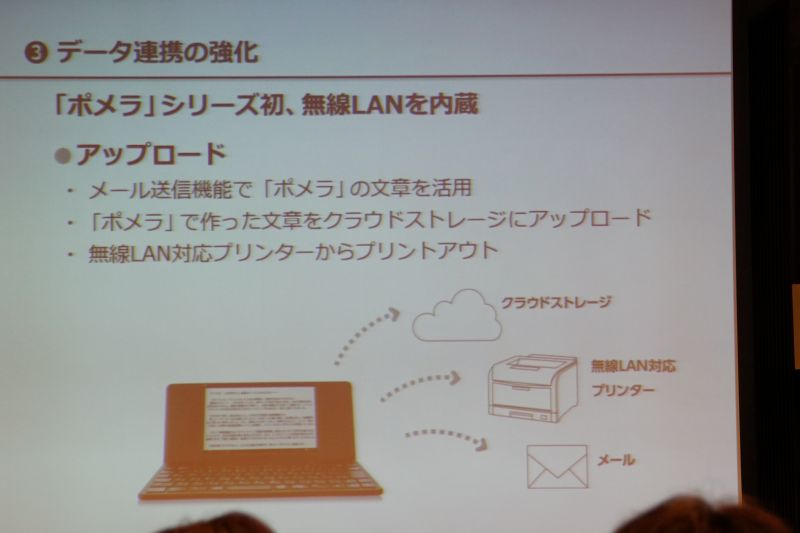 Evernoteへのアップロードやプリンタからの印刷も可能に