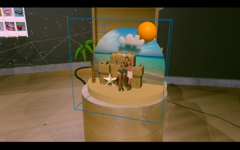 さきほどPaint 3Dで作成したデータももちろん表示可能