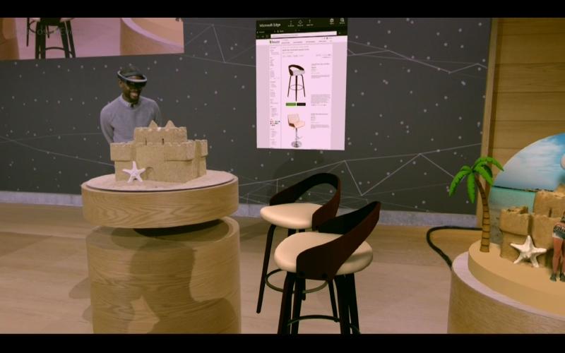 ショッピングサイトで3Dデータを配布している場合も実空間に配置できる