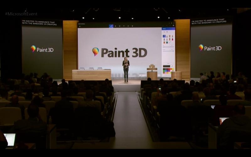 Creators Updateで提供されるPaint 3D