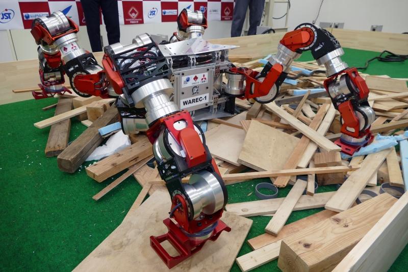 4脚型ロボット「WAREC-1」