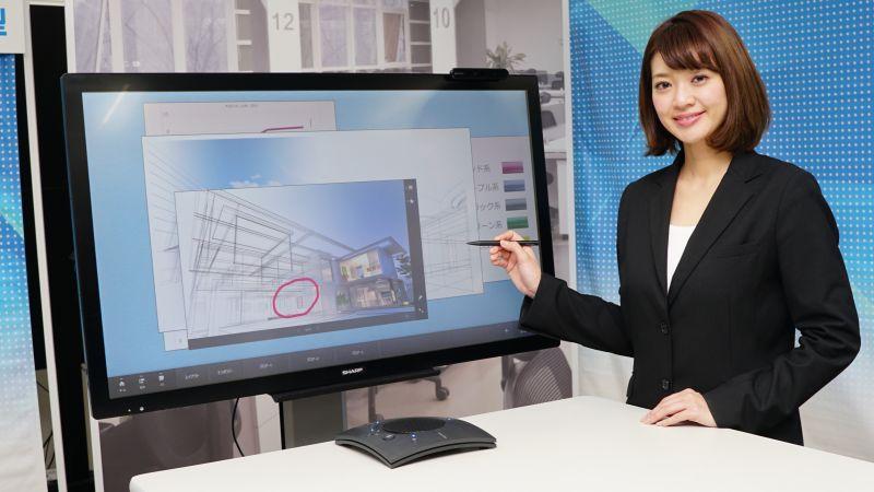 オリジナルのクラウド型Web会議サービス「TeleOffice」などを使ったミーティングにも対応