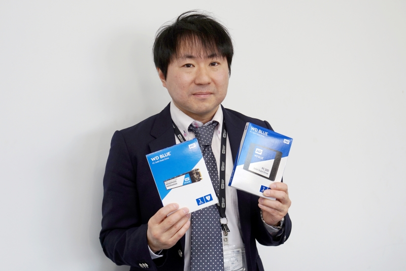ウエスタンデジタルジャパン株式会社 チャネルマーケティング シニアマネージャーの安田伸幸氏