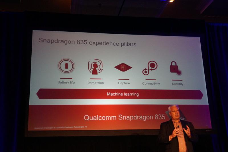 Snapdragon 830の5つの特徴。バッテリ駆動時間、仮想現実、写真動画のキャプチャ、常時接続性、セキュリティ