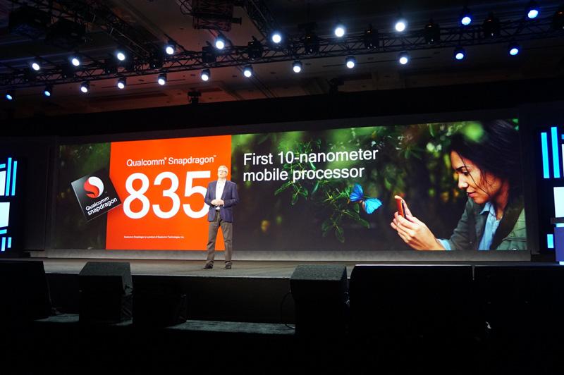 10nmで製造される最初のモバイルプロセッサとなるSnapdragon 835