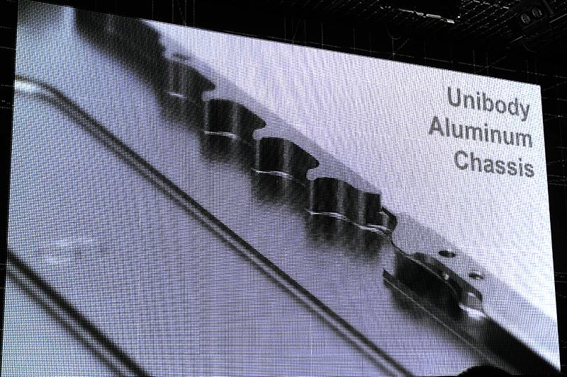 アルミ製ユニボディ筐体