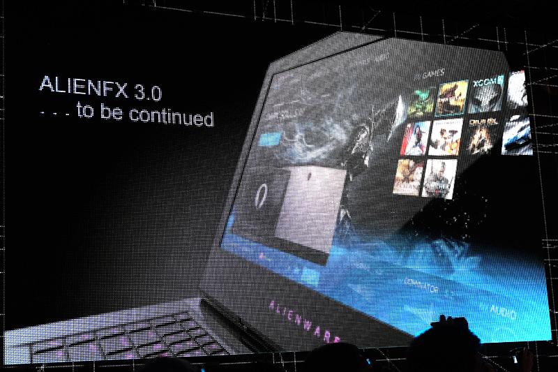 ALIENFX 3.0の提供を予告