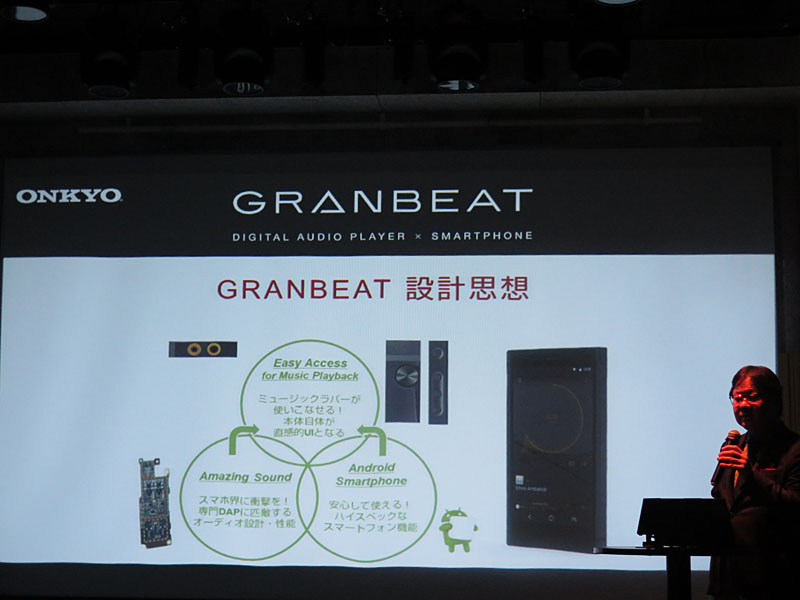 GRANBEATの設計思想