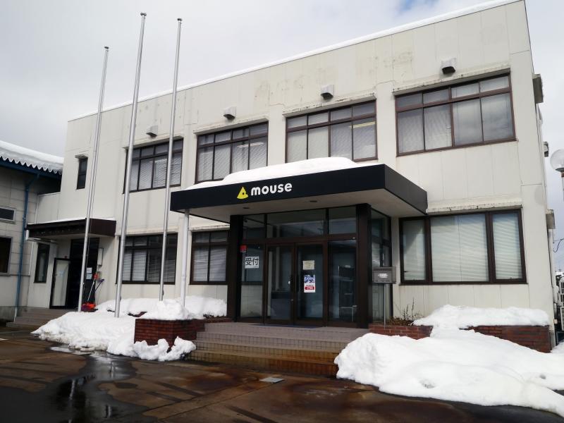 雪深い長野県飯山市のマウスコンピューター飯山工場