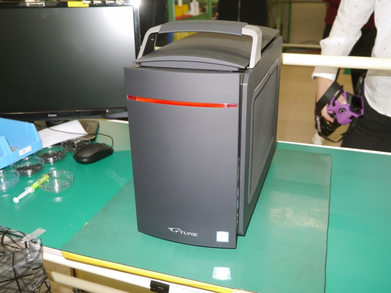 完成したLITTLEGEAR i310シリーズ