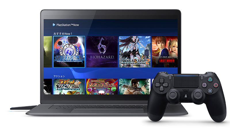 PlayStation Now for PCアプリ ©2017 Sony Interactive Entertainment Inc. All rights reserved. Design and specifications are subject to change without notice.