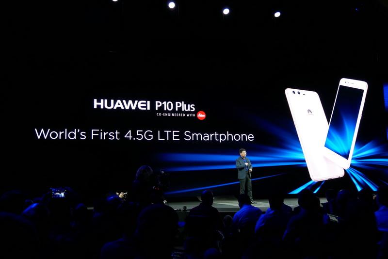 世界初の4.5G LTE対応スマートフォン