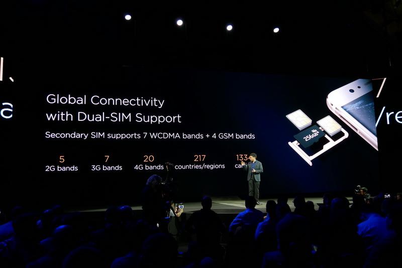 対応するセルラーの周波数帯域は、LTEは20バンド、3Gは7バンド、2Gは5バンドをサポート