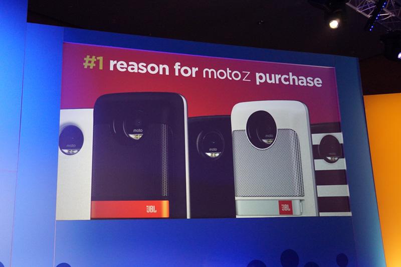 ModsがMoto Zを購入する1番の動機になっているという