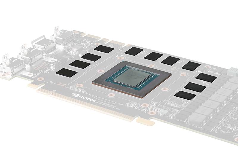 11個のDRAMチップを配置