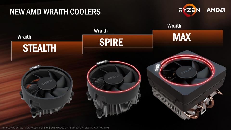 AMD純正クーラーもRyzen 7に合わせて一新された