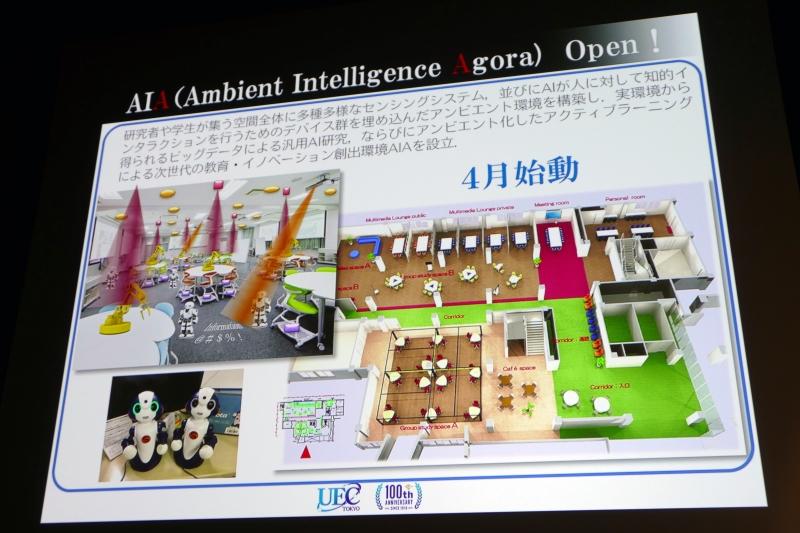 実験環境「Ambient Intelligence Agora」