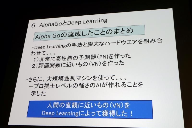 AlphaGoの技術の概要