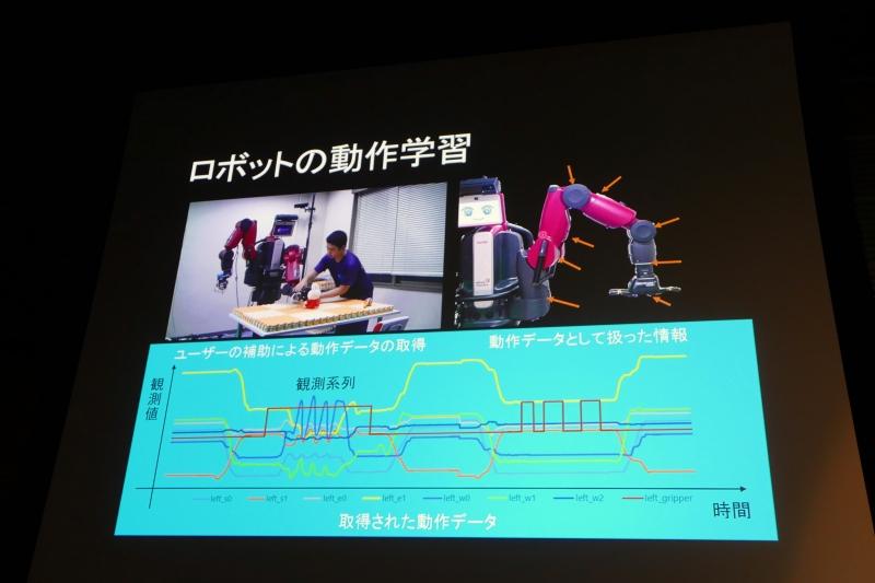 ロボットの概念と動作の同時学習