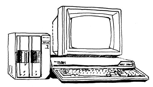 PC-9801。パソコンといえばPC98という時代を築いた。