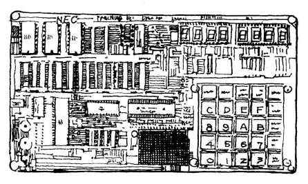 TK-80。技術者向けにマニアが飛びつき、マイコンブームを作り出した名機。