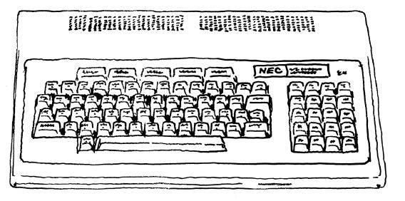 PC-8801。マイコンからパソコンという言葉が中心となるきっかけを作る。