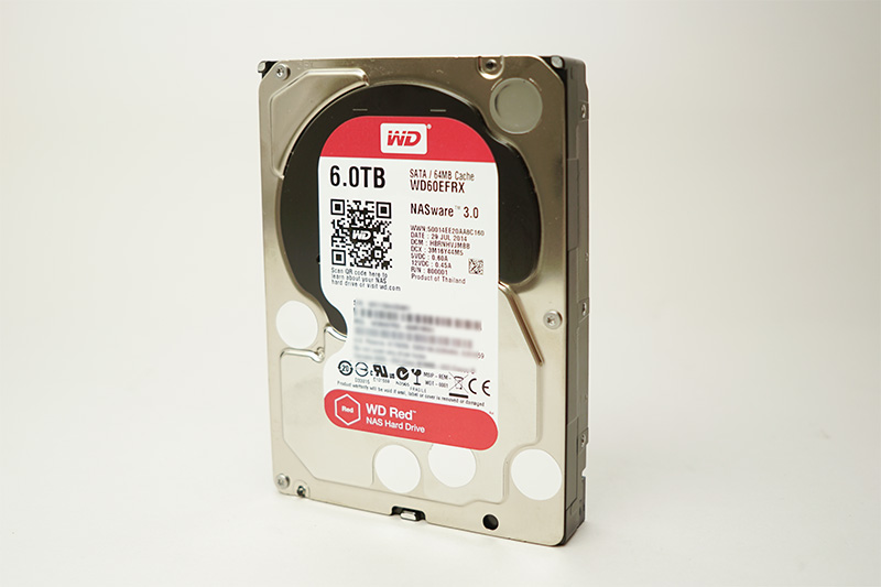 WD Redの実物