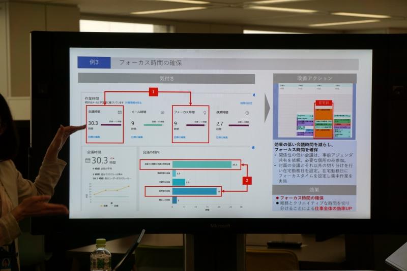 Surface Hub上でのプレゼン