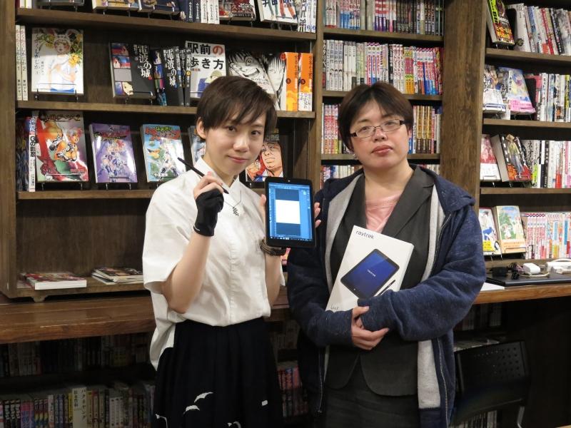 劉セイラさん(左)と林田奈美氏(右)