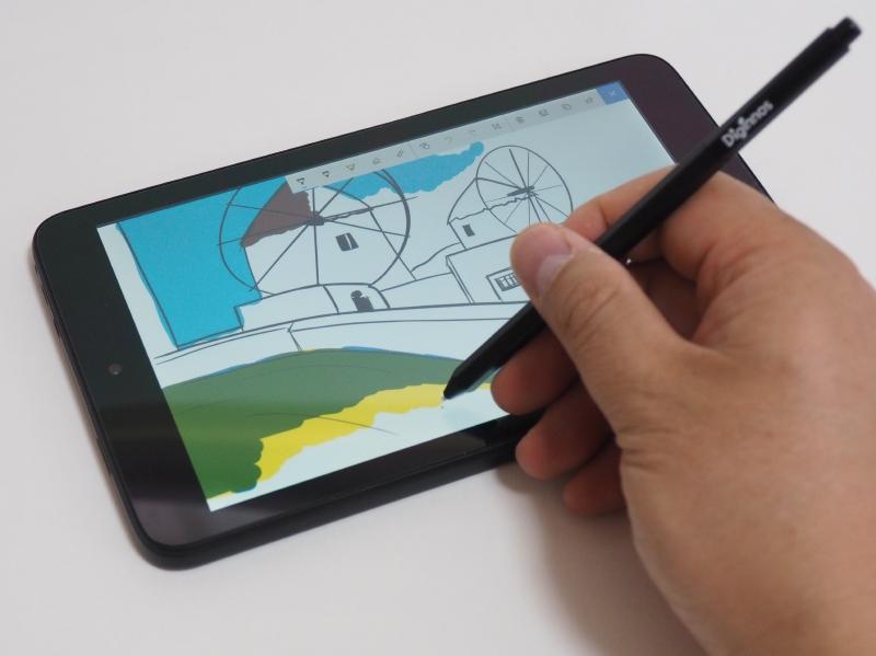 筆圧感知機能付きペンは「Windows Ink ワークスペース」の各ツールでももちろん利用できる