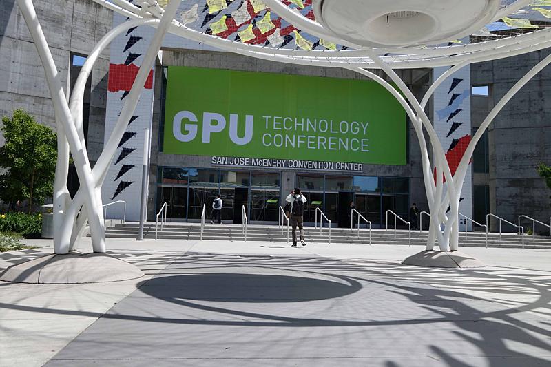 GTCの会場San Jose McEnery Convention Center