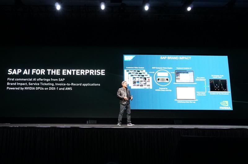 SAPもAIを導入