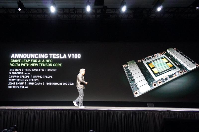 Tesla V100のスペック