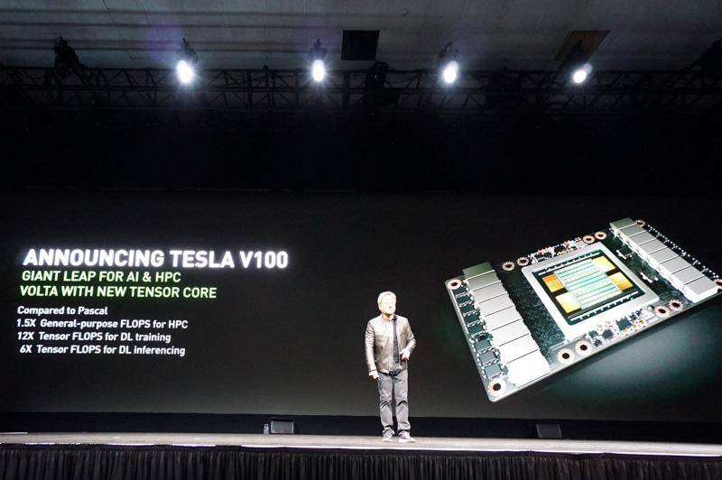 Tesla V100の性能