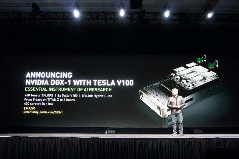 DGX-1 with Tesla V100