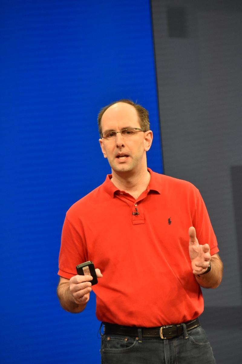 Scott Guthrie氏。Cloud and Enterprise Group担当上級副社長。