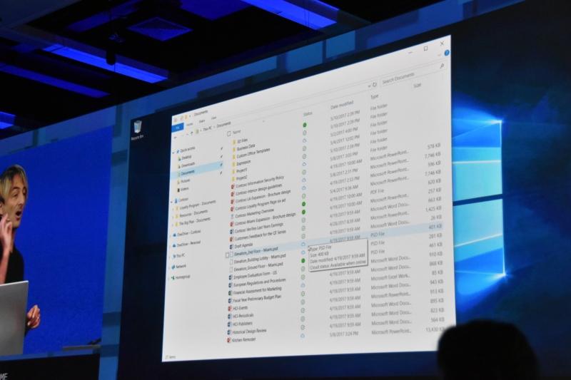 OneDriveに以前の仕様復活。オンデマンドに。初夏のInsider Previewから実装予定