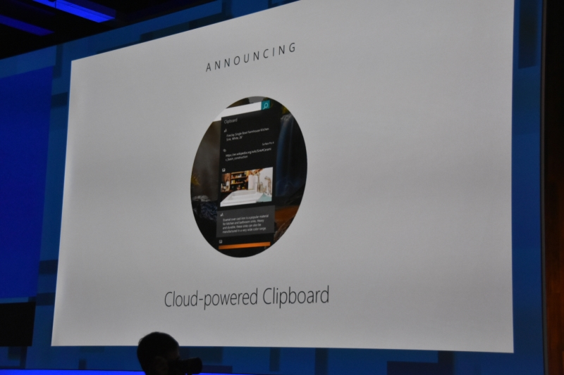 Cloud-Powered Clipboard発表