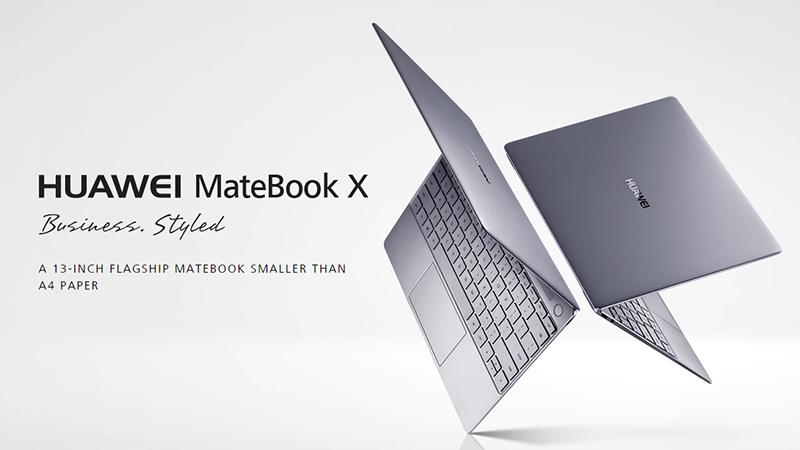 「MateBook X」