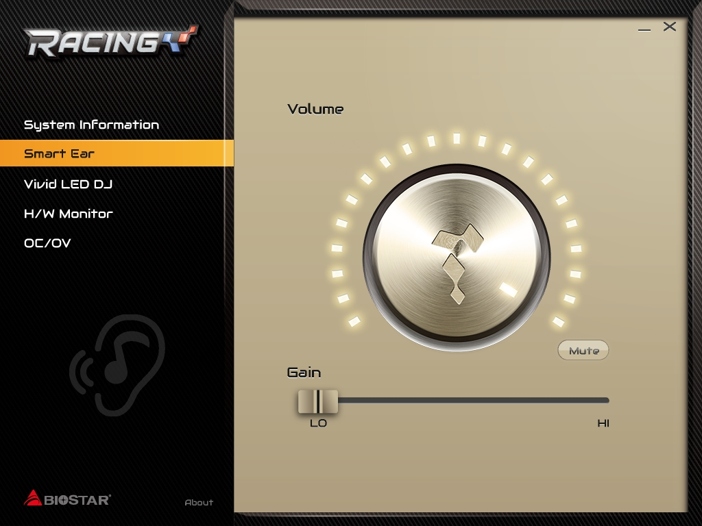 ヘッドフォンのインピーダンスに合わせて最適な出力を行なう「Smart Ear」
