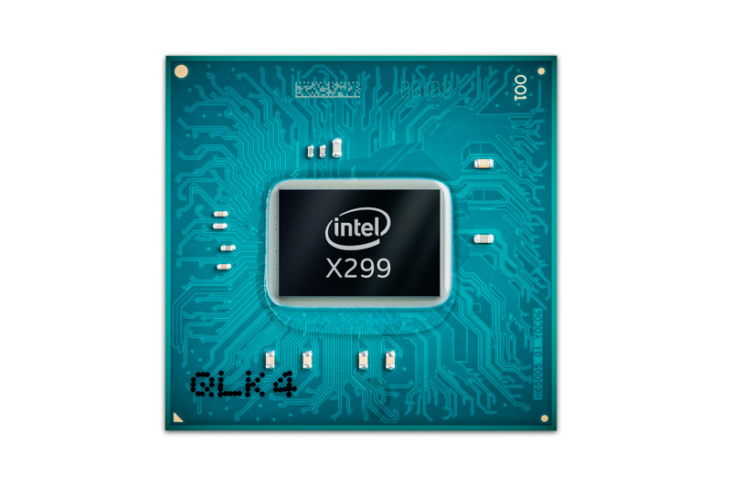 Intel X299 チップセット(提供:Intel)