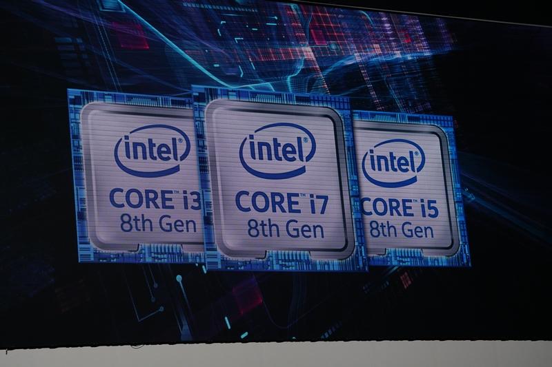 第8世代Coreプロセッサを2017年中に投入