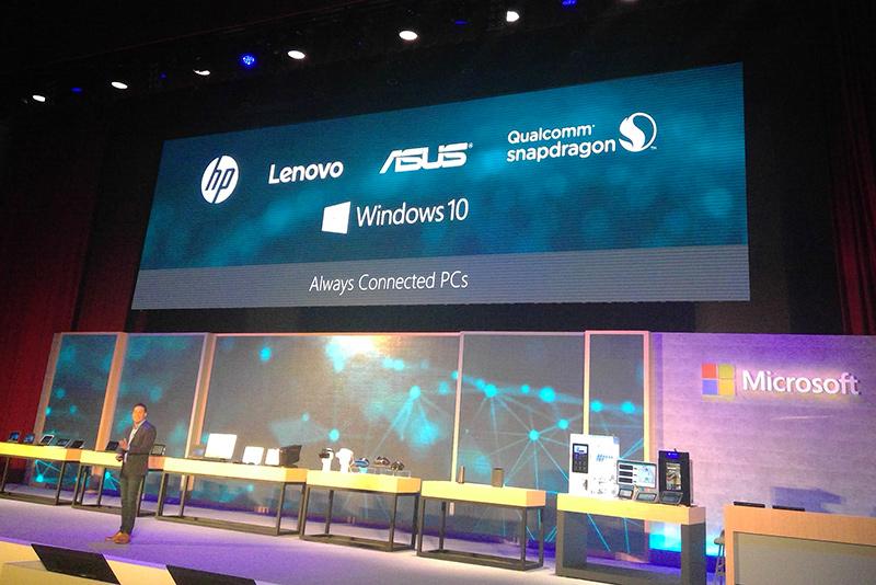 Snapdragon搭載Windows 10をリリースする予定のPCメーカー