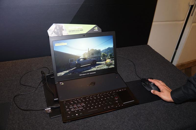 Max-Qに対応したASUSのZEPHYRUS、GeForce GTX 1080搭載