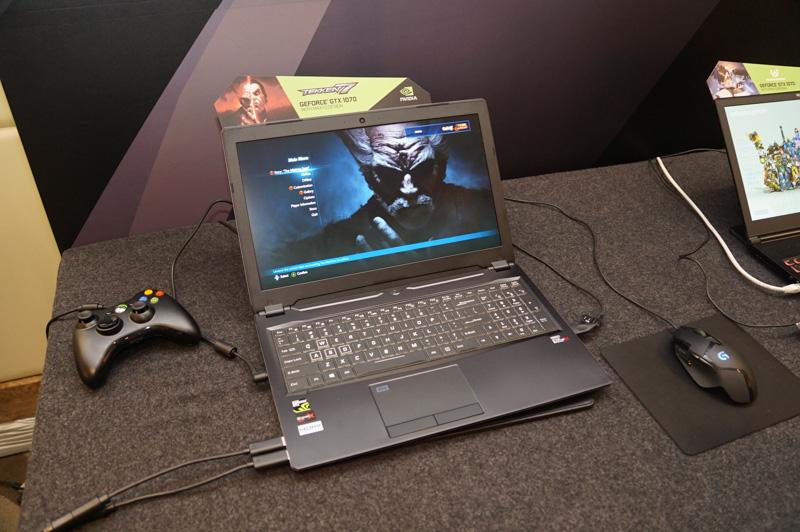 Max-Qに対応したClevoのP950、GeForce GTX 1070搭載