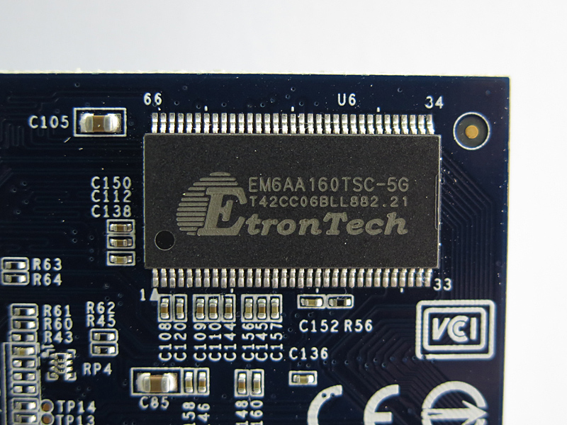 ビデオチップはEM6AA160TSC-5G