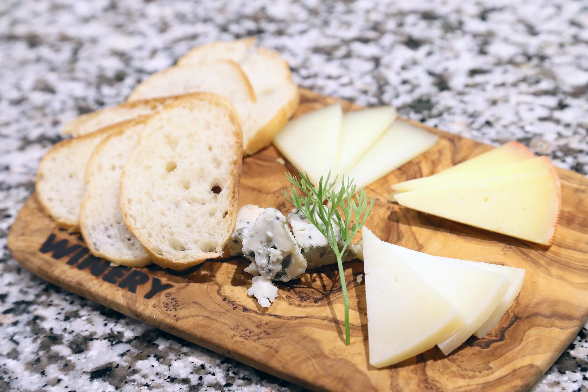 チーズの4種盛り合わせ