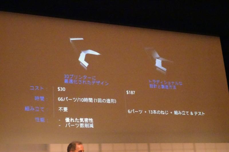 従来の部品製造と3Dプリンタによる部品製造の違い