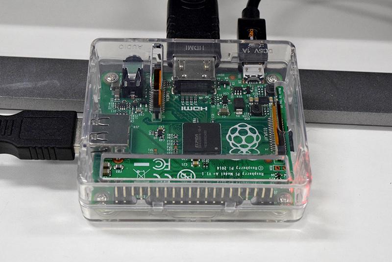 Raspberry Piを内蔵